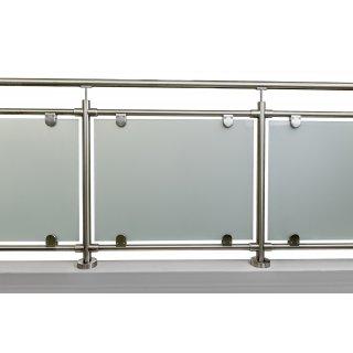 glas gel nder aus edelstahl geschliffen f r aufgesetzte mon. Black Bedroom Furniture Sets. Home Design Ideas