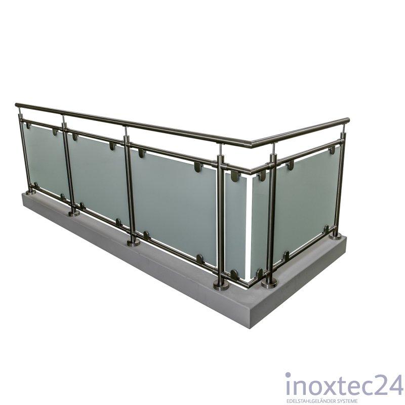 glas gel nder nach mass aus edelstahl geschliffen f r. Black Bedroom Furniture Sets. Home Design Ideas